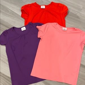 Hanna Andersson T-Shirt 3-Pack Girls 12/150